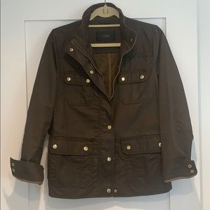 J.crew Barbour style fall jacket